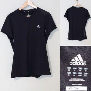 Adidas Black Ladies T-Shirt - large